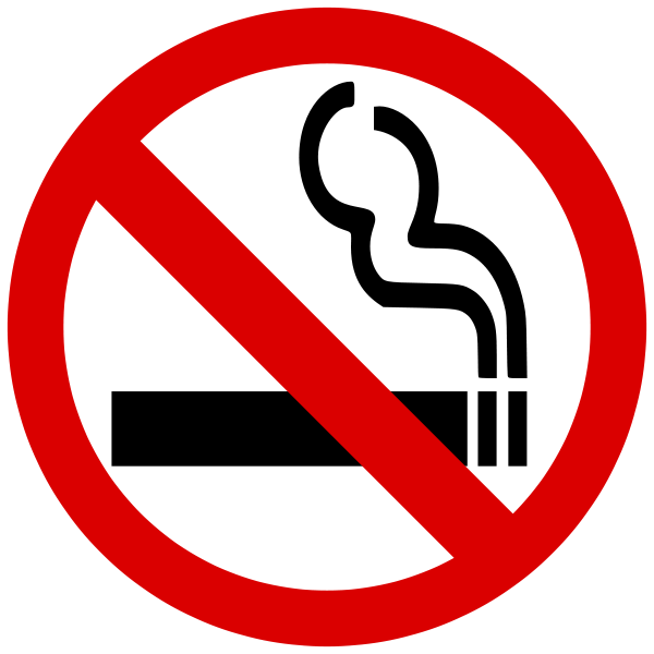 Výsledek obrázku pro zákaz kouření