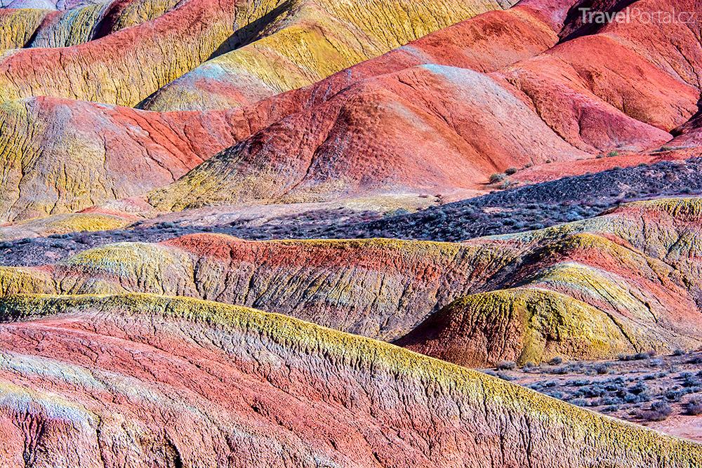 Duhové hory Čína