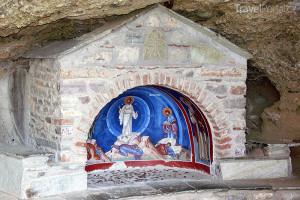 výzdoba kláštera Meteora