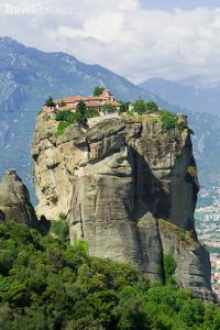 byzantský klášter Meteora