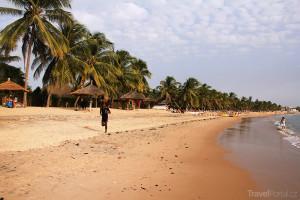 pláž v Senegalu