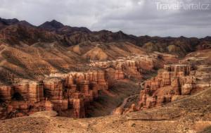 národní park Sharyn Canyon