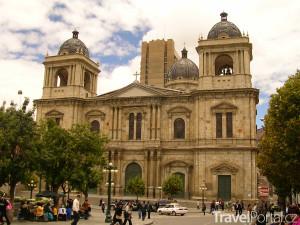 katedrála v La Paz