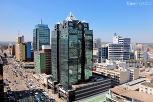 Harare je hlavním městem Zimbabwe