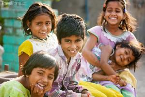 indické děti
