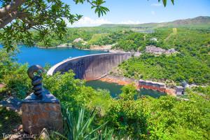 přehradní nádrž Kariba