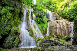 Krušunský vodopád v Bulharsku