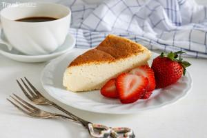 Japonský tvarohový dort alias Japanese Cotton Cheesecake