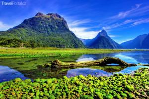 Mirror Lakes, Nový Zéland