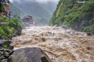 povodně v Peru 2017
