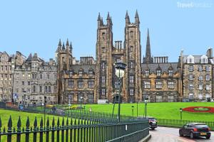 univerzita ve městě Edinburgh