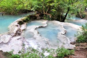 kaskády u Krušunského vodopádu