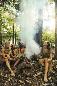 Ivana Jirešová v Amazonii