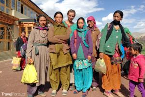Ivana Jirešová v Malém Tibetu