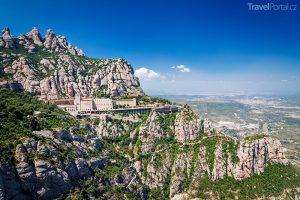 hora a klášter Montserrat