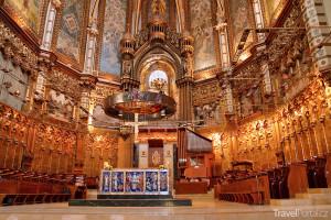 bazilika v klášteře Montserrat