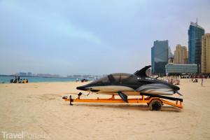 pláž v emirátu Dubaj