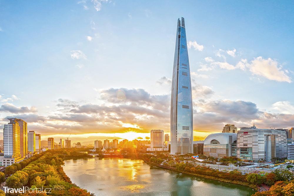 Lotte World Tower v Soulu