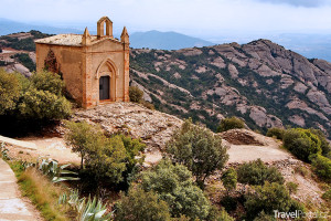 kaple Sant Joan na hoře Montserrat