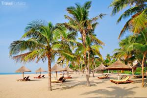 pláž na jihu ostrova Chaj-nan