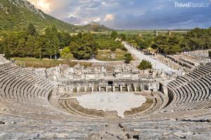 amfiteátr ve městě Efez
