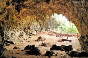 jeskyně Liang Bua na ostrově Flores
