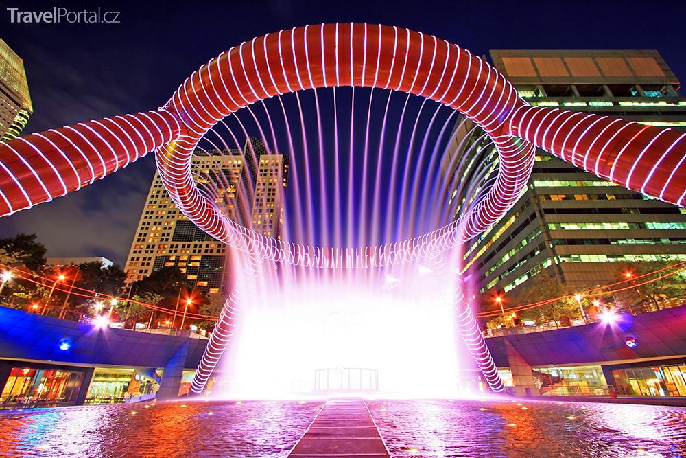 unikátní světové fontány