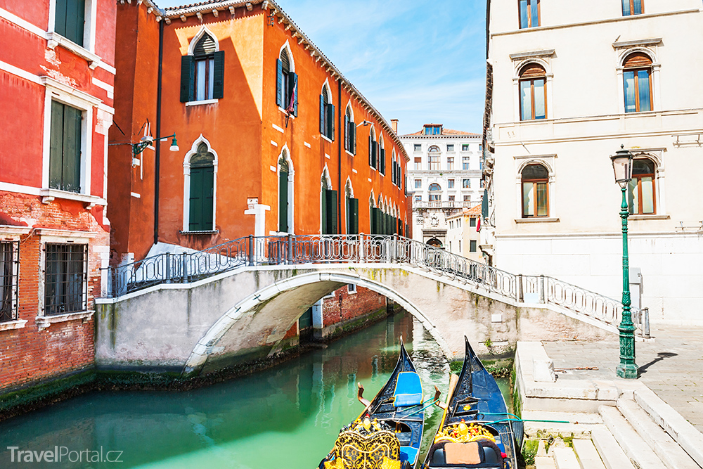 italské město Benátky