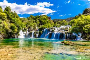 vodopády Skradinski buk v národním parku Krka