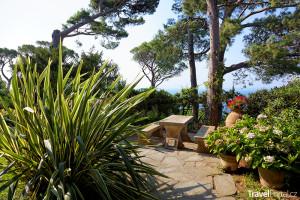 zahrady vily San Michele