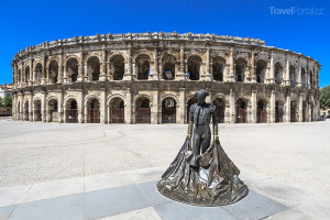aréna ve městě Nîmes