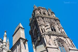 gotická katedrála Notre-dame v Rodez