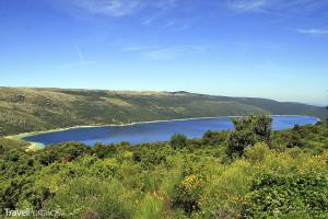 Vranské jezero na ostrově Cres