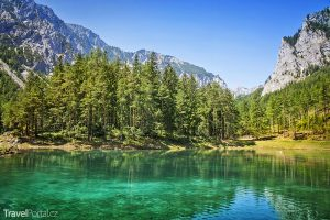 Grüner See v Rakousku