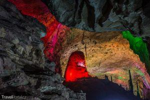 čínská jeskyně Reed Flute