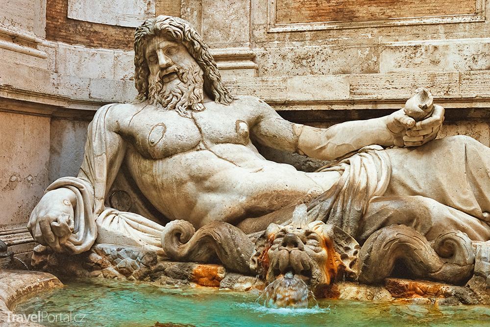 mluvící socha – Marforio