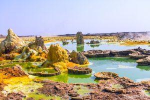 Dallol v Etiopii