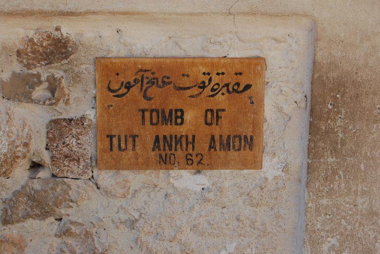 Tutanchamon - hrobka