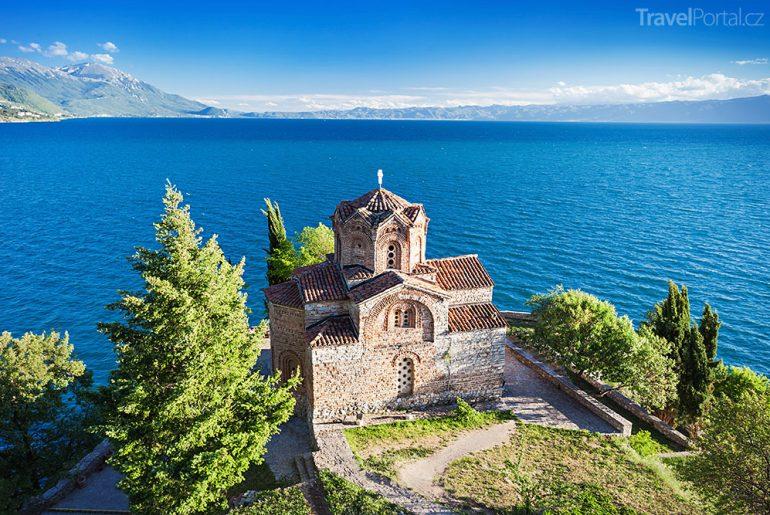Ohridské jezero v Makedonii