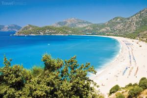 Turecko - pláž