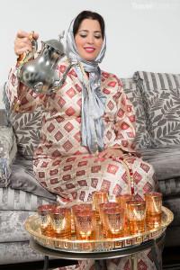 Maroko - čaj
