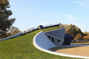 Střecha Digitálního muzea Rumunsko