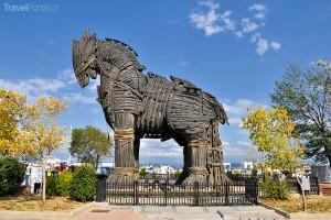 trojský kůň Canakkale