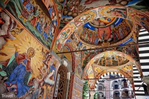 Fresky Klášter Bulharsko
