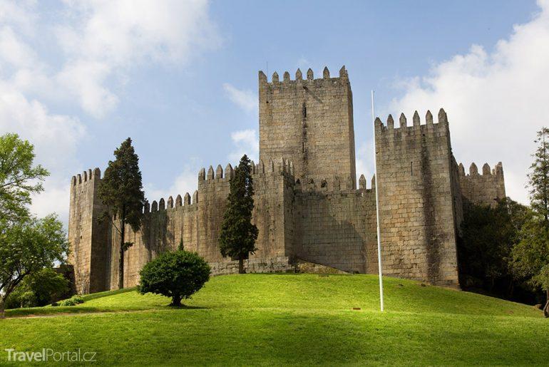 Pevnost v Guimarães Portugalsko