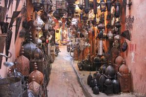 Zboží na Jemaa el-Fna