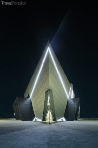 Digitální muzeum v noci Pecica