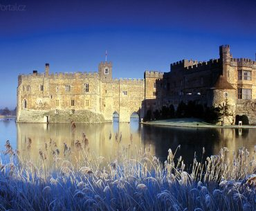 Leeds Castle v zimě