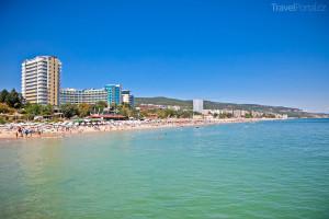 Varna pláž Bulharsko