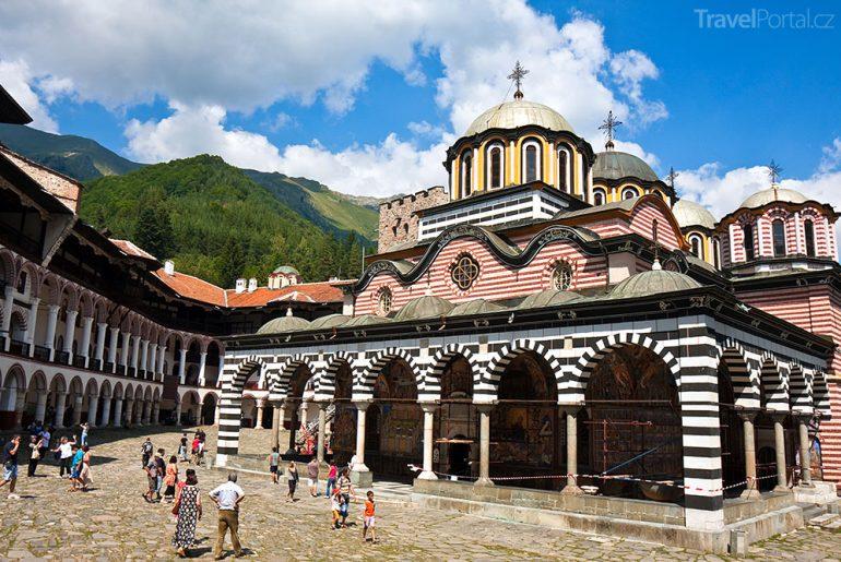 Klášter Rila Bulharsko